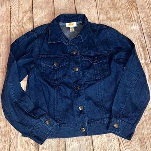 Talbots Classic Denim Jean Jacket